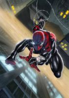 Superior Spider-man by krissthebliss