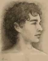 Robert Sheehan by TendaLee