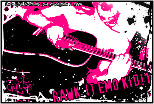 RAWK IT by Emo-Sells