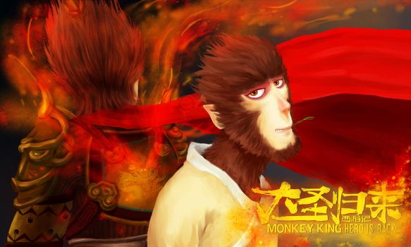 MONKEY KING - hero is back by dongrichen