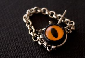 - Evil Eye Ring - by IskaDesign