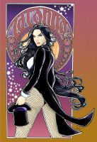 Zatanna - Colored by Pyromaniac975