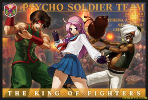 KOF XIII:PSYCHO SOLDIER TEAM by CHARLYDAIMON21