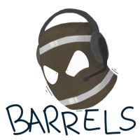 Pewdiepie as a barrel- Youtubes as by Gameaddict1234
