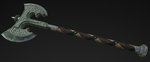 Battle Axe Low poly by VladOcs