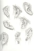 ear study by Madirakshi