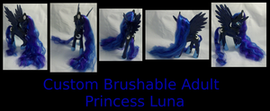 Custom Adult Brushable Luna Two-Toned by Gryphyn-Bloodheart