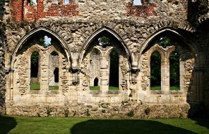 Netley Abbey Revisited 3 by OghamMoon