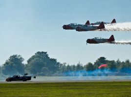Aeroshell Team and Flash Fire Race by texasghost
