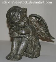Angel Statue 1 by Stickfishies-Stock