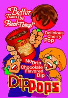 Dip Pops ad art by lilmikeegee