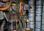 Orc n wolf head by swept-wing-racer