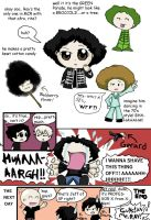 MCR comic - the RAY-FRO by Chocoreaper