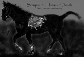 Horse of Death ::scraps:: by montex