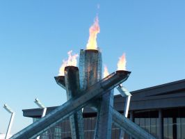 2010 Olympic Cauldren by TheSorceressRaven