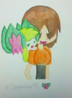 Me and Shay-Shay by shayminlover492