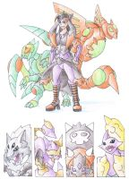 Elite Four Aria by darksilvania