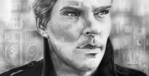 Benedict Cumberbatch by Roza777
