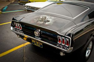 Frank Frazetta Mustang by theCrow65