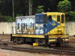 Graffitied 80T MRS Logistica by SD40-2