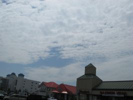 Cloudy Sky over Ocean City by beanboy89