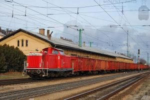 0469 004-9 with a goods train in Gyor on 2012 by morpheus880223