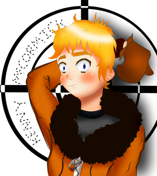 SouthPark Kenny (Anime Style) Not Gunned Today by TheMapleOtaku