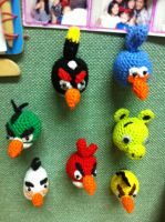 angry birds magnets by handfree
