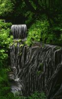 Waterfall - edited by Bumblewales