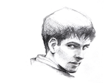 Colin Morgan as Merlin by TheMiceArt