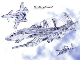SF-102 Hellhound by TheXHS