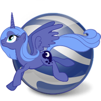 google earth icon - luna by spikeslashrarity