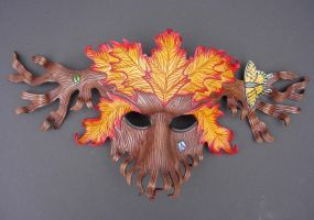 Wood Spirit Mask by merimask