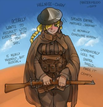 BF1 - The Hill People [Coloured] by Panzermeido
