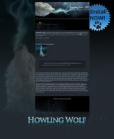 Howling Wolf - CSS by KovoWolf