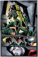 Coloring - X-Men #25 - Sequential Art by andreranulfo