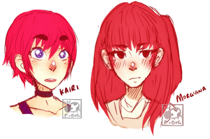 Redheads by prince-buggy