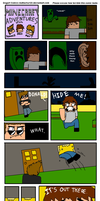 Minecraft Adventures by DogartComics