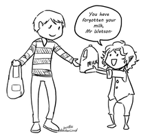 Don't Forget The Milk! by Chere-and-Rose