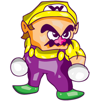 Wario warm-up by greenate