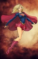 My Supergirl by MihaelaJoeDesigns