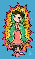 Our Lady of Guadalupe by posole