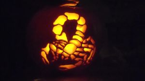 Scorpion Pumpkin by mke927