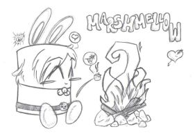 Marshmellow Lover by 0AngelicWings0