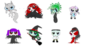 Monsterpuffs adopts *offer to adot* open 5 left by ScorpionsKissx