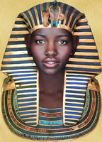 Portrait of a Pharaoh by DaBrandonSphere