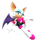 Rouge The Bat New Render by NIBROCrock
