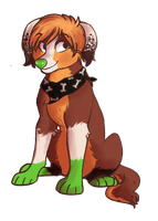 Adorableee puppy by Watermelun