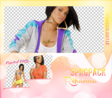 Rihanna Png Pack by lightwoodamla