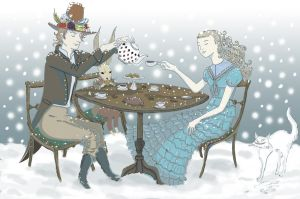 Together in the Winter by soletine
